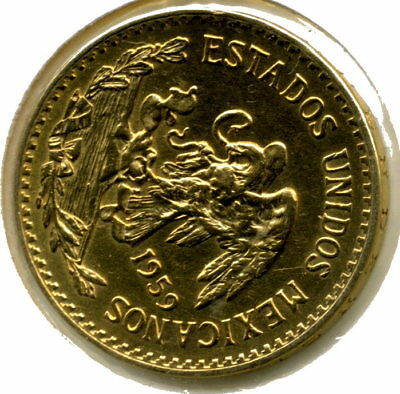 20 Pesos Gold1959  FDC 15 grammes OR