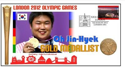 Oh Jin Hyek 2012 Olympic Korea Archery Gold Medal Cover