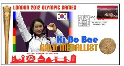 Ki Bo Bae 2012 Olympic Korea Archery Gold Medal Cover