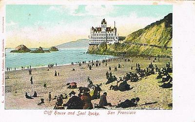 CPA coul. San Francisco - cliff house and Seal Rocks