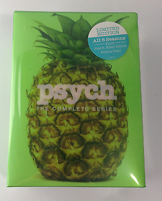 Psych: The Complete Series seasons1-8 (DVD, 2014, 31-Disc Set,1,2,3,4,5,6,7,8)