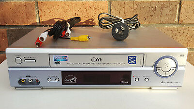 LG FC930W Crystal Live Picture Tape Player - VHS/VCR - Tested & Working