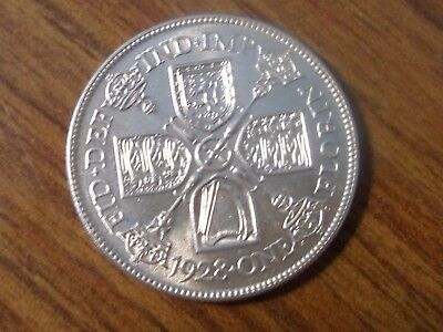 1928 Florin  ( Two Shillings ) Great Britain