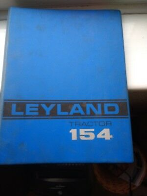 Leyland 154 Workshop Manual