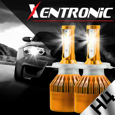 XENTRONIC LED HID Headlight kit 9007 HB5 6000K for Nissan 200SX 1998-1998