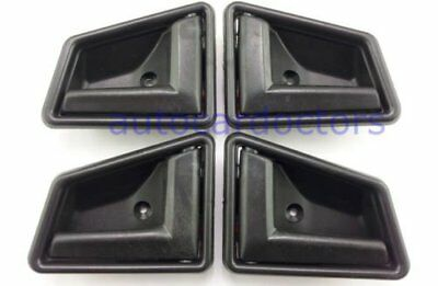 1989-1998 Suzuki Sidekick Black Interior Inside Door Handle Front Right Left ...