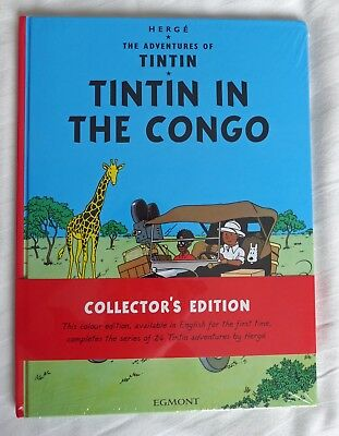 Tintin in the Congo by Herge Hardback Collector's Edition BRAND NEW