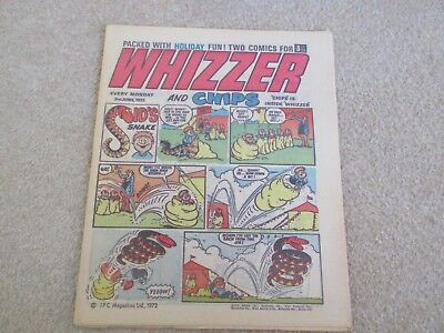 Whizzer And Chips Comic, June 3rd 1972-very Good Condition
