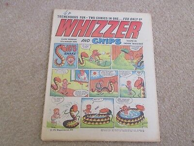 Whizzer And Chips Comic, August 15th 1970- Good Condition