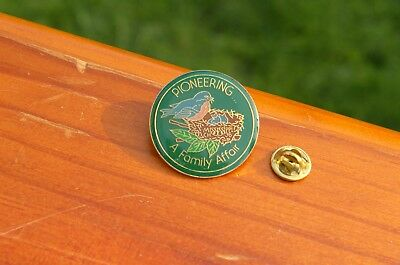 Telephone Pioneers of America Pioneering A Family Affair Mississippi Pin Pinback