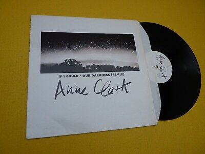 """Anne Clark – If I Could / Our Darkness (Remix) (EX/EX) 1992  Maxi Single 12"""" ç"""