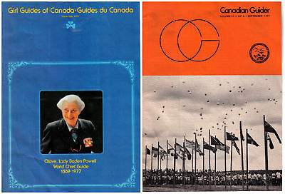 Girl Guides Canada Guider & Lady Baden Powell Memorial Issue 1977