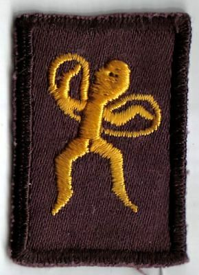 Brownie Gnome Pixie Sixer Emblem Badge Girl Guide Scout Patch Canada 1970s