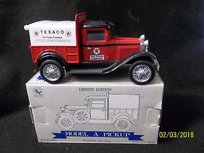 Texaco Petroleum Ford Mode A Die Cast Delivery Truck - Bank (C2)