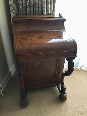 Breathtaking Antique Davenport Desk, circa 1855