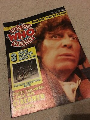 DOCTOR WHO WEEKLY Number 5 1979 Nov 14th BRITISH