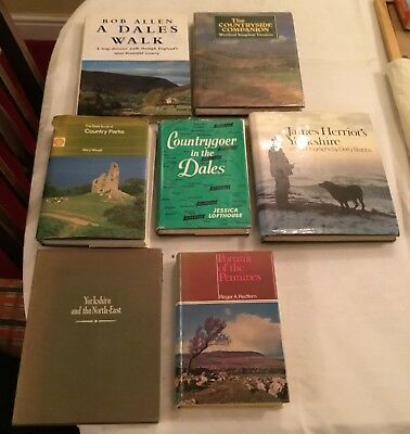 Collection or lot of topographical / country books based mainly in Yorkshire