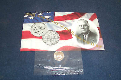 1996 W Us Mint West Point Roosevelt Dime In Mint Issued  Protector With Coa