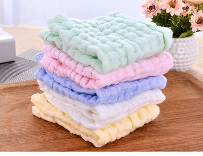 Face towel Muslin absorb comfort soft care healthy protect clean wash dry colour