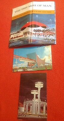 LOT OF Unused Vintage Official postcards NEW YORK'S WORLDS FAIR 1964-1965 9X6