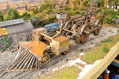 """3.5"""" Gauge Live Steam 4-4-0 Early American Woodburning Loco Chassis/Running Gear"""