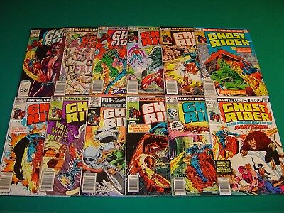 Ghost Rider 27,40,51,65-67,69-73,75 (1977-1982) VG/FN 5.0 12 Total Issues Marvel