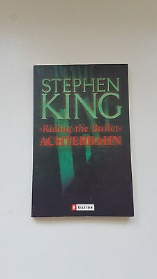 Stephen King Riding the Bullet - Achterbahn - Ullstein - guter Zustand