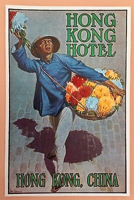 Luggage Label Hotel Hong Kong Hotel, China  (Sweeney)