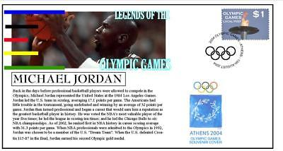 Olympic Games Legends Cover, Michael Jordan Basketball