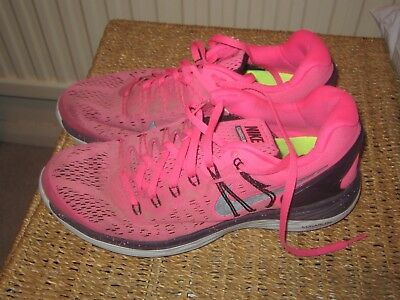 Nike Lunar eclipse 5 Used UK6 Pink Women's Running Trainers
