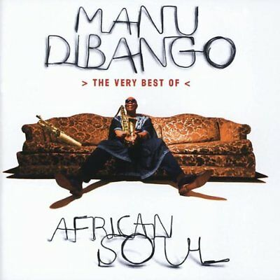 Manu Dibango - African Soul - The Very Best Of [Greatest Hits] CD NEW/SEALED