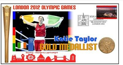 Katie Taylor 2012 Olympic Irish Boxing Gold Medal Cover