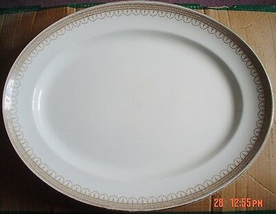 Losol Ware Keeling And Co Ltd CLAREMONT Large Meat Platter