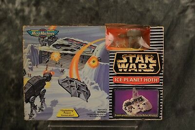 Star Wars Micro Machines Galoob Ice Planet Hoth Playset Sealed Box FREE SHIPPING
