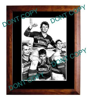 Paul Vautin Manly Sea Eagles 1987 Grand Final Win Large A3 Photo