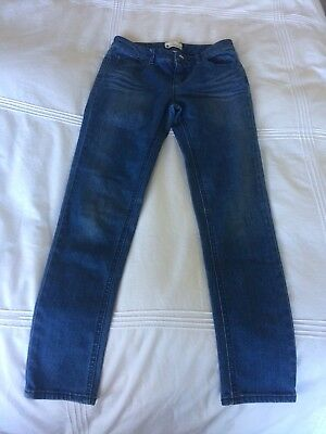 Girls Roxy Denim Skinny Jeans Size 12 Excellent Condition