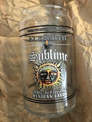 Sublime Collectible Limited 50th Glass Cup Beer Can New 40oz Freedom Mexican