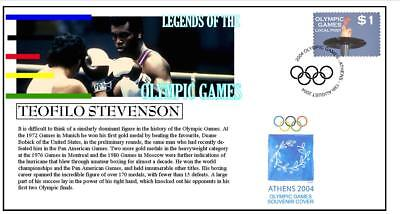 Olympic Games Legends Cover, Teofilo Stevenson Boxing