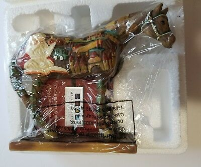 The Trail Of Painted Ponies. #12288 Wooden Toy Horse. Westland Giftware