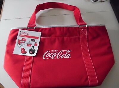Coca-Cola Picnic Time Insulated Tote Bag New with Tags NWT