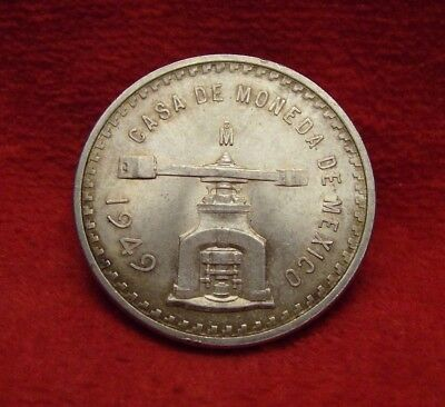 Mexico - (1) - *1949* Onza - Casa De Moneda .925 Silver - About Uncirculated!