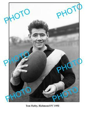 Richmond Fc Great Tom Hafey 1953 Large A3 Photo