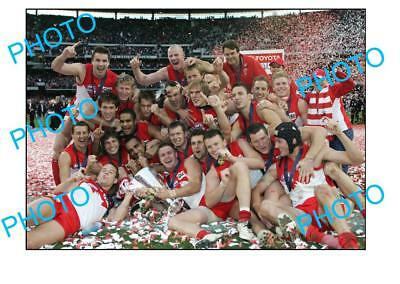 2005 Sydney Swans Premiership Team Grand Final Win Large A3 Photo 1