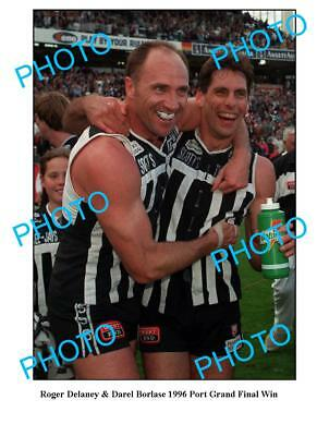 Delaney & Borlase Port Adelaide Sanfl Premiers A3 Photo