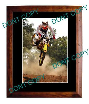 Chad Reed Australian Supercross Motocross Champion Large A3 Photo
