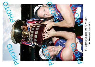 Central Districts 2007 Sanfl Premiers A3 Photo, Thomas