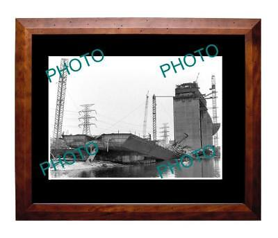 West Gate Bridge 1970 Contruction Collapse A3 Photo 1