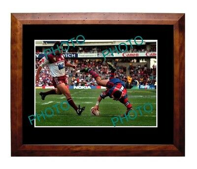 Robbie O'davis Newcastle Knights 1997 Grand Final Try Large A3 Photo
