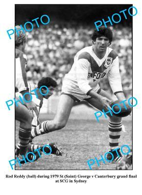 ROD REDDY St GEORGE DRAGONS GREAT LARGE A3 PHOTO
