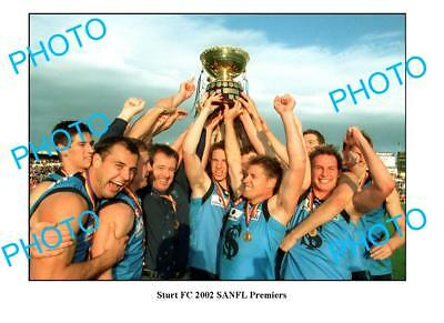 Sturt Fc 2002 Sanfl Premiership Win Large A3 Photo 2